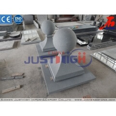 Sandbalsted G654 granite ball with